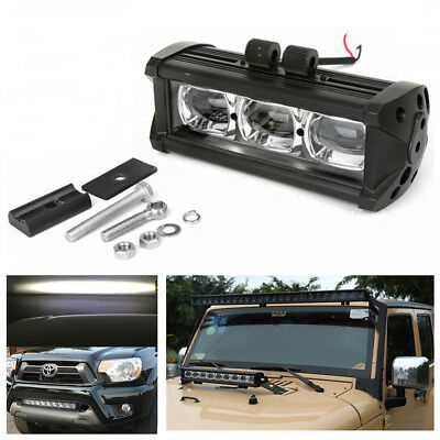 Universal 7Inch Off-Road 60W 6000K LED Work Light Bar Spot Beam Driving Fog Lamp