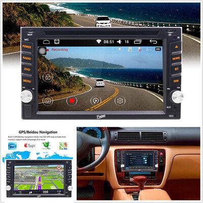 "6.2"" HD 2DIN Touch Dash Car MP5 CD/DVD Player GPS Nav Radio Stereo Bluetooth USB"