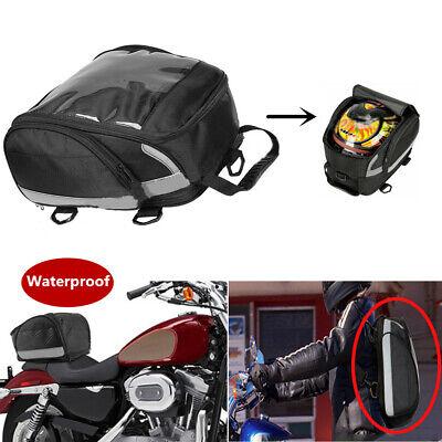 Motorcycle Tail Bag Rear Seat Kit Waterproof Sport Travel Luggage Helmet Storage