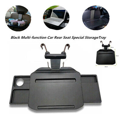 Car Rear Seat Back Rack Cup Holder Foldable Dining Table Desk Retractable Tray Breeze Dining Table
