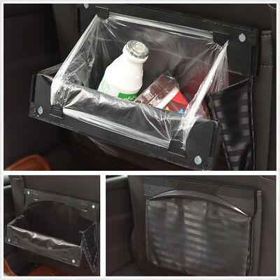 Universal Foldable Car BackSeat Garbage Trash Can Storage Rubbish Bin Litter (Metro Trash Can)