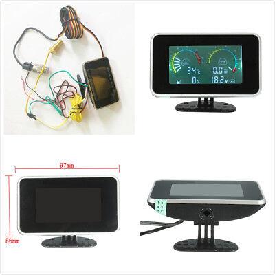- Car LCD Water Temperature/Oil Pressure/Voltmeter/Oil Fuel Gauge Accessories Kit