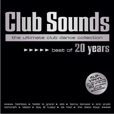 CLUB SOUNDS - BEST OF 20 YEARS - LTD 4x VINYL - NEU & OVP