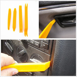 auto handle door lights interior trim panel removal pry open nylon tools 4 in 1 ebay. Black Bedroom Furniture Sets. Home Design Ideas