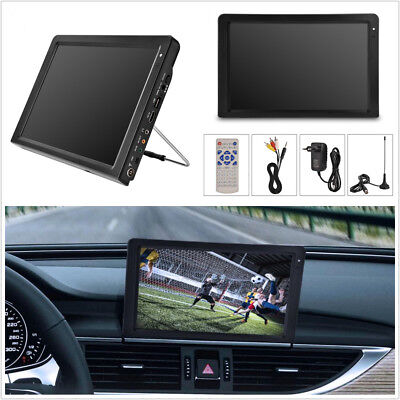 Portable 12'' TFT LED HD TV ATSC 12V Car Home Digital Television Analog HDMI VGA Atsc Led