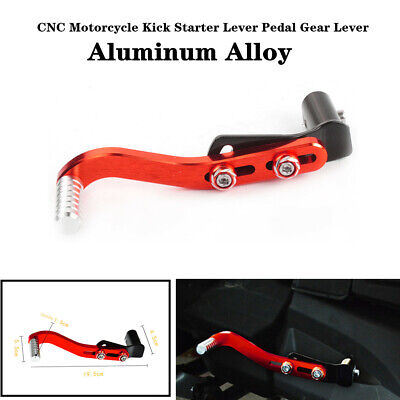 Universal CNC Aluminum Motorcycle Kick Starter Lever Pedal Gear Lever Accessory