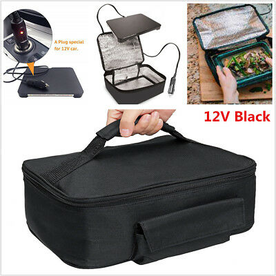Blk Personal Portable Electric Oven Mini Mac Hot Logic Food Tote Picnic Camping for sale  Shipping to Canada