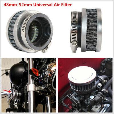 Motorcycle Scooter ATV Air Filter 48mm-52mm Cleaner For Honda Yamaha Kawasaki US