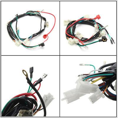 1 x Electric Start Wiring Loom Harness For Pit Bike ATV Quads 50 70 90 110 125cc
