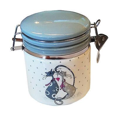 470ml kleiner Aufbewahrungsbehälter mit Deckel Vorratsdose Biokeramik (Kleine Behälter Mit Deckel)