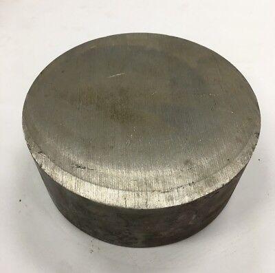 5 34 Diameter 304 Stainless Steel Round Bar 5.75 X 2.25 Length