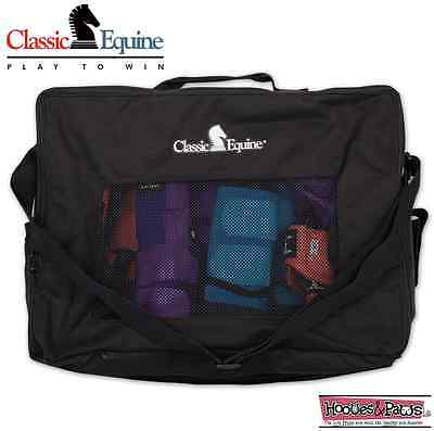 (Boot Black Accessory Tote Bag Classic Equine Horse Tack)