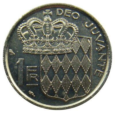 (A0) - Monaco - 1 Franc 1968 - Rainier III - XF-UNC - KM# 140
