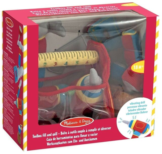 Melissa and Doug Toolbox Fill and Spill - (BNIB) - 13038
