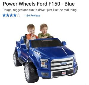 Kids Power Wheels Ford F-150 - Blue ($400.00)