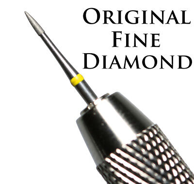 Fine Diamond Coated Pin + Double Ended Vice Uncleaned Roman Coin Cleaning Tool