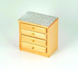 modern pine kitchen drawer unit doll 39 s house kitchen furniture