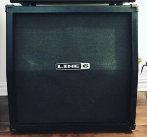 Guitar cabinete line6 4x12 with celestion speakers