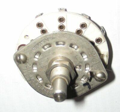 Rotary Switch Gib 51320 Nos Dp3t Ceramic Wafer