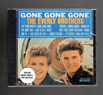 Gone Gone Gone By Everly Brothers (the) (cd) Collectors' Choice Music