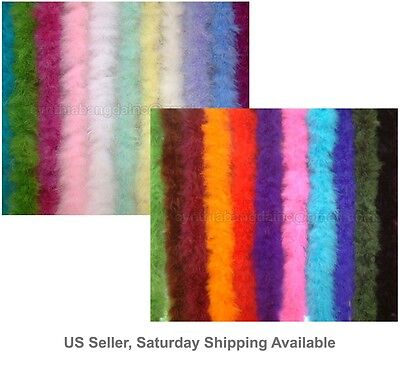 15 Gram Marabou Feather Boa, 30+ colors and patterns to pick up from Sewing Trim Color Marabou Feather Trim