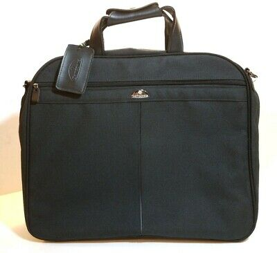 Samsonite Softshell Black Garment Bag Suit hanger Hang bag Luggage Travel Case