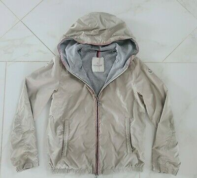 EUC Moncler Jacket Windbreaker Kids Beige Size 12