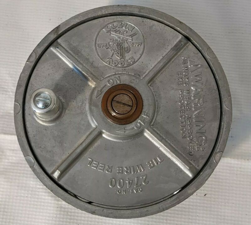 Klein Tools 27400 Aluminum Tie Wire Reel with Wire