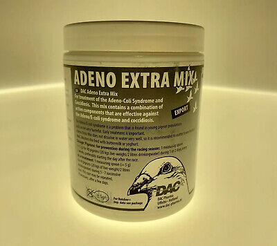 Dac Adeno Extra Mix 100g (Paratyphoid and Coccidiosis) For Pigeons