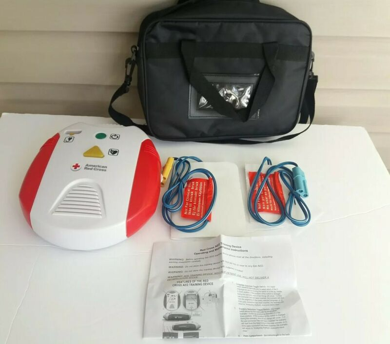 American Red Cross AED Training Device Trainer  - English & Spanish