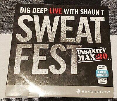 Insanity Max 30 Sweat Fest
