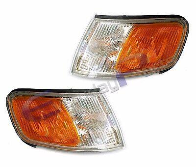 (Fits 94-97 Honda Accord Sedan Coupe Turn Signal Park Lamp Light Assembly 1 Pair)