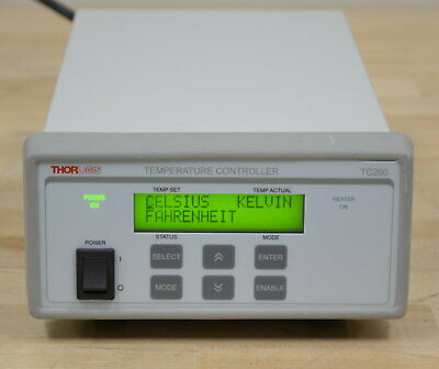 Thorlabs Tc200 Temperature Controller 20c To 200c Guaranteed Two Available