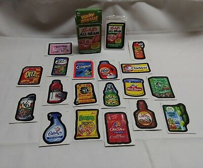 topps 2010 wacky packages kooloff's all brain box of cards & stickers