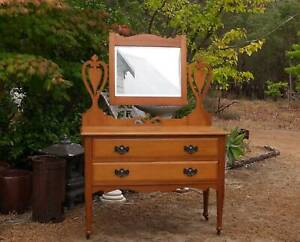 Vintage mirrored chests and draws ,other dressing tables / draws Martin Gosnells Area Preview