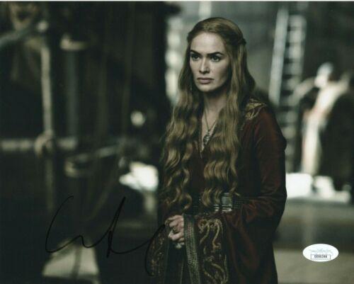Lena Headey Game of Thrones Autographed Signed 8x10 Photo JSA COA EF718