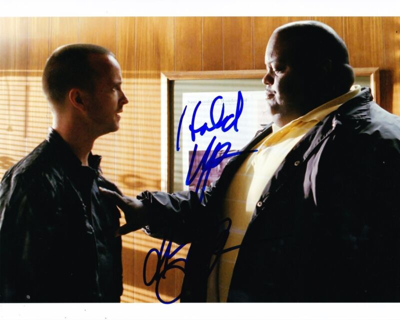 LAVELL CRAWFORD SIGNED 8X10 PHOTO BREAKING BAD HUELL AUTOGRAPH INSCRIPTION COA C