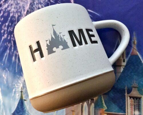 NEW Disney Parks Fantasyland Castle HOME Speckled Ceramic Coffee Mug Homestead