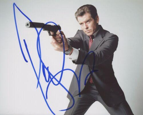 Pierce Brosnan Signed Autographed 8x10 Photo James Bond Star COA VD