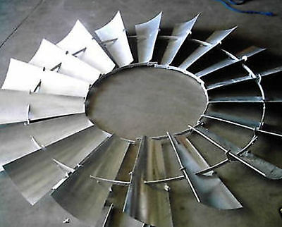 Aermotor Windmill Wheel For 8ft A702 A602 New Wo Spokes Sections Assembled