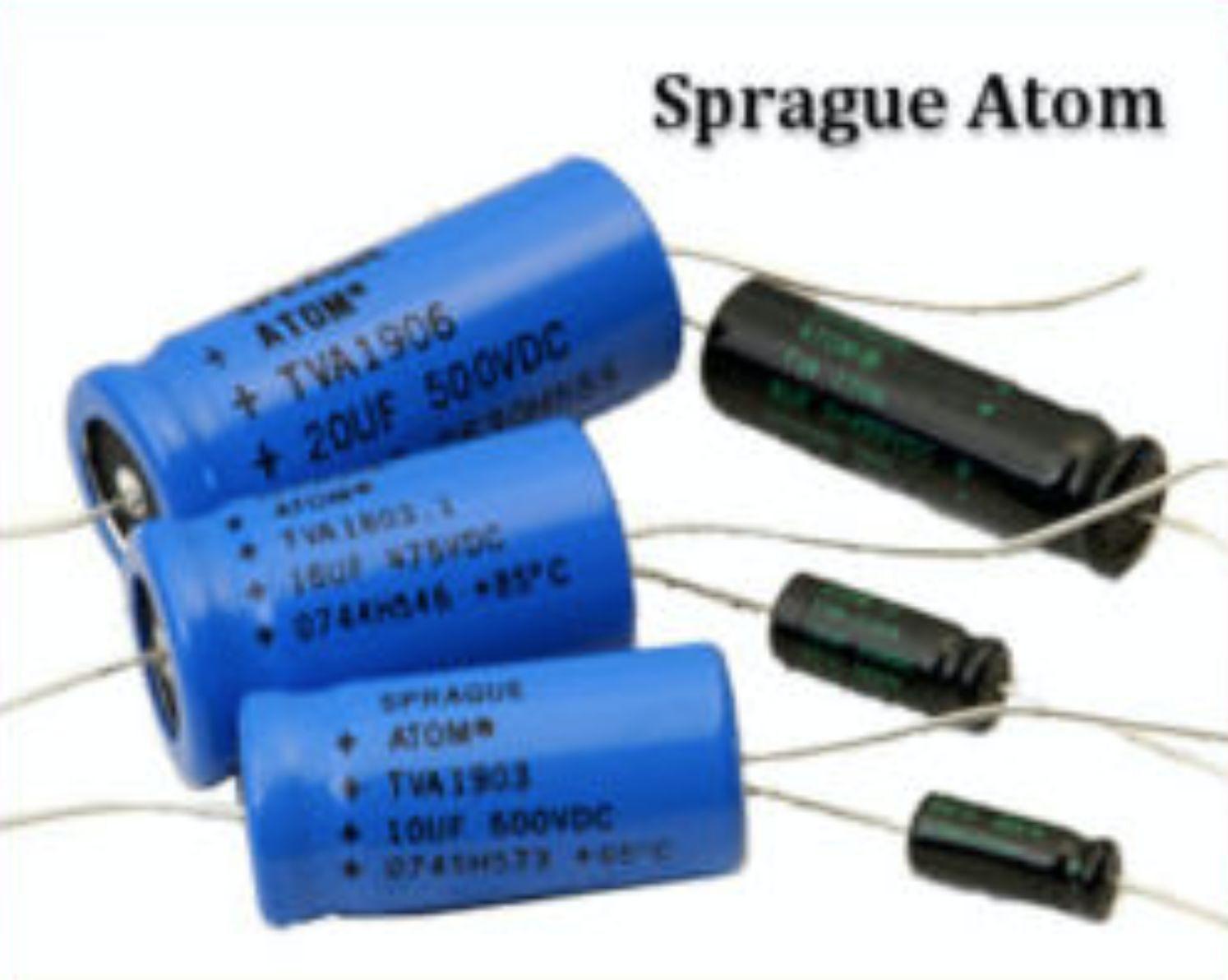 "1 x NOS 500 uf @ 16 vdc Sprague Vintage /""Atom/"" Electrolytic Capacitor!"