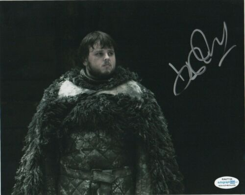 John Bradley Game of Thrones Autographed Signed 8x10 Photo ACOA MA19