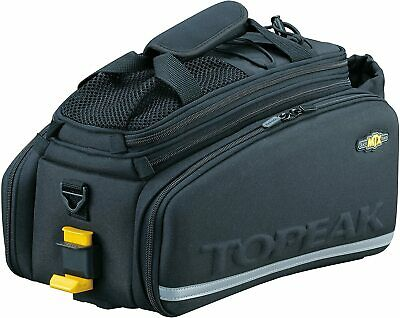 Topeak MTX Trunk Bag DXP Bicycle Trunk Bag with Rigid Molded Panels Black