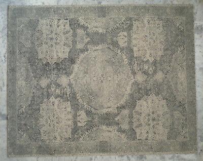 Persian hand tufted Printed Gray 5X5 5X8 8X10 9X12 10X14 wool area rugs BRT9  - Hand Tufted Wool Persian Rug