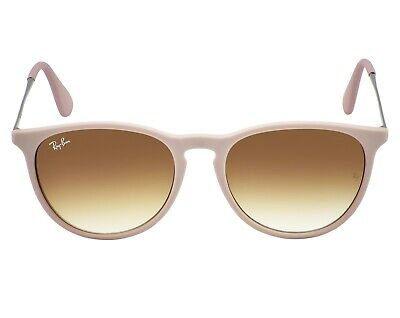 Ray-Ban RB4171 ERIKA CLASSIC 6000/68 Brown+Silver, Brown/Violet Gradient Unisex (Raybans Erika)