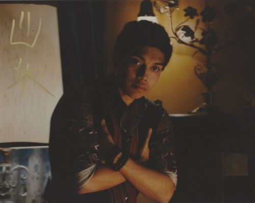 Chance Perdomo Chilling Adventures Sabrina Autographed Signed 8x10 Photo COA #3