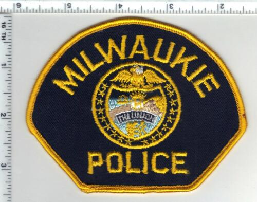 Milwaukie Police (Oregon) Shoulder Patch - new from the 1980
