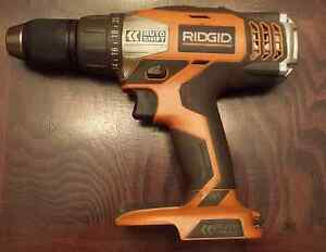 Ridgid drill + driver + radio + charger + brand new 2ah battery