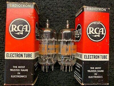 5 Pcs NOS RCA 12A6 Audio Radio Vacuum Tubes NIB