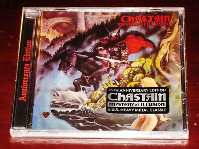 Chastain: Mystery Of Illusion 35th Anniversary Special Edition CD 2020 Bonus NEW